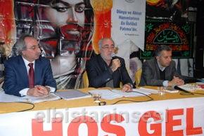 Tarihçi yazar Ali Kaya'nın Ehl-i Beyt'i anma programındaki konuşması