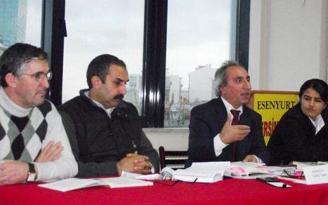 İstanbul Esenyurt'ta Dersim 38 anması ve paneli yapıldı
